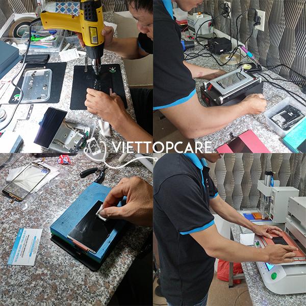Quy trình thay mặt kính điện thoại tại Viettopcare