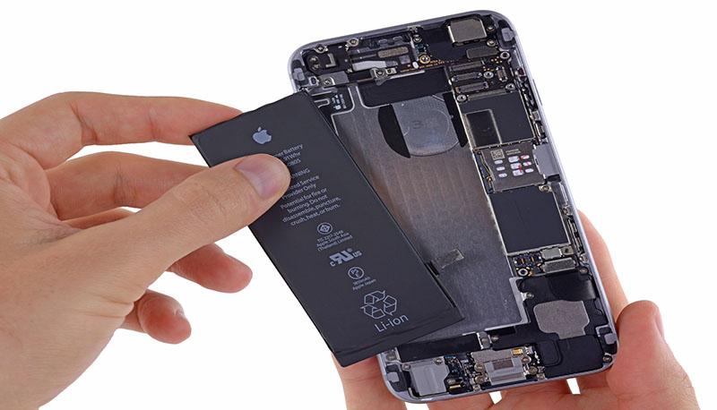 Kết quả hình ảnh cho thay pin iphone 6s