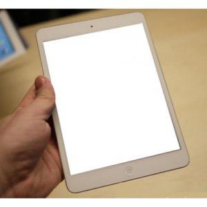 Ipad bị trắng màn hình