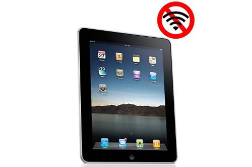 Ipad 3 bị mất wifi
