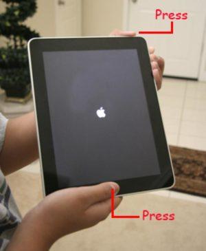 Ipad Air bị giật màn hình
