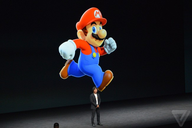 mario và pokemon go tại lễ ra mắt iphone 7