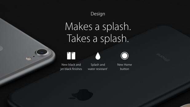 iphone 7 sẽ không được bảo hành lỗi do dính nước
