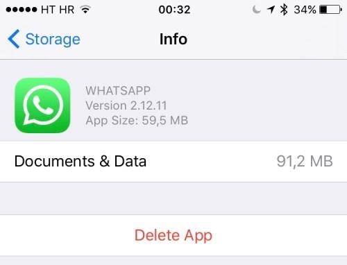 iphone đầy bộ nhớ