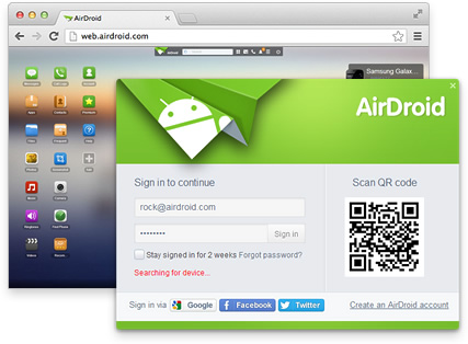 Ứng dụng Airdroid
