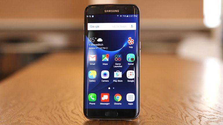 Galaxy S7 Edge bị treo