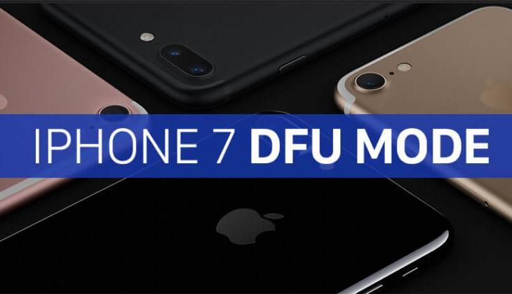 đưa iphone 7 về chế độ DFU