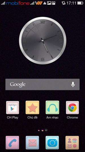 hình nền điện thoại Oppo chuyển sang màu đen