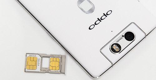 Oppo không nhận SIM