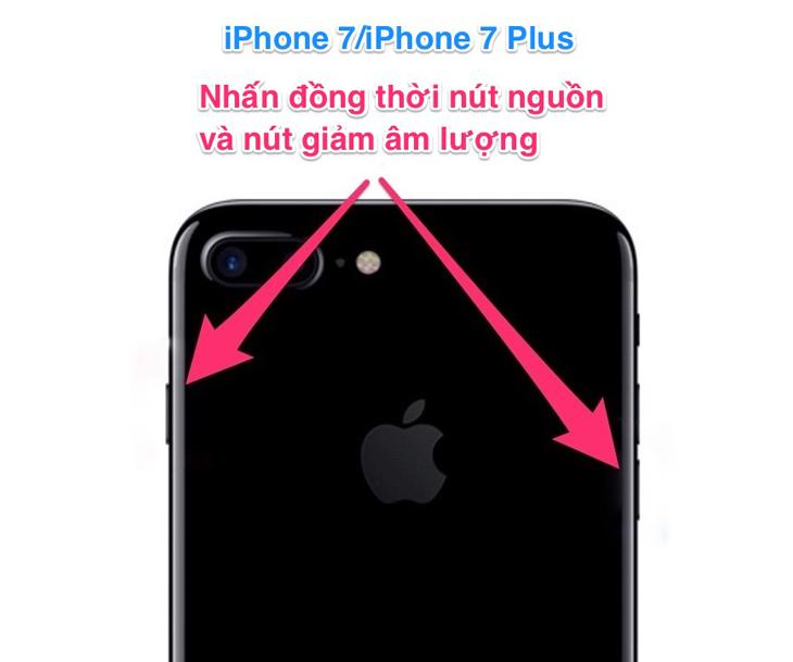 iphone 7 bị treo cảm ứng
