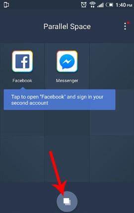 đăng nhập nhiều tài khoản trên một ứng dụng