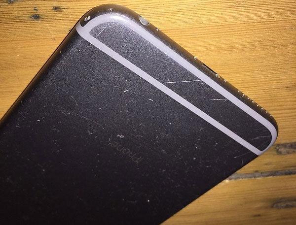 Iphone 6 bị trầy viền