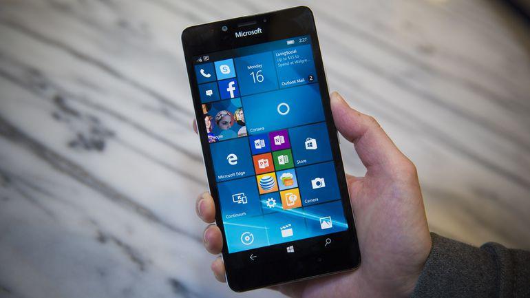 Thay màn hình Lumia 950