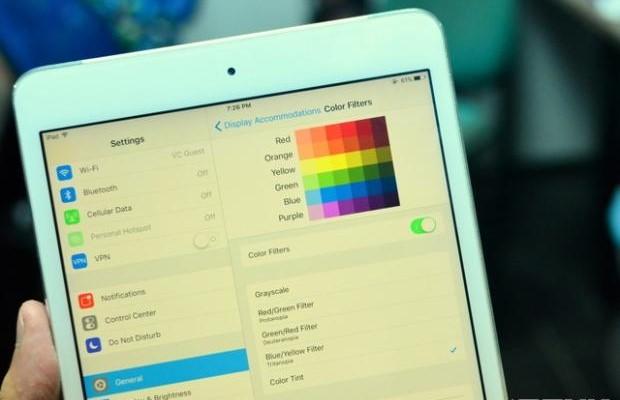 iphone 6 Plus bị vàng màn hình