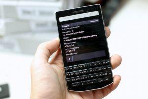 thay màn hình BlackBerry Porsche Design P'9983
