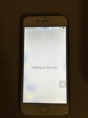 Màn hình iphone 6 bị chấm trắng