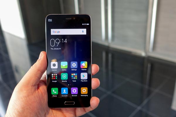 Xiaomi Mi 5 bị nóng máy