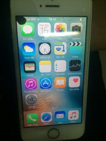 màn hình iphone 5/ 5S bị chấm đen