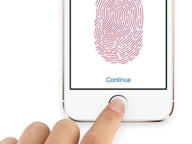 Cảm biến vân tay trên iphone 7