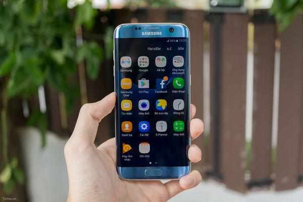 màn hình Galaxy S7 Edge bị loạn cảm ứng