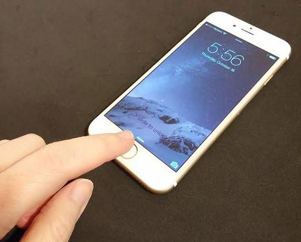 iphone 7 không nhận vân tay?