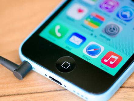 màn hình iphone 5C bị loạn cảm ứng