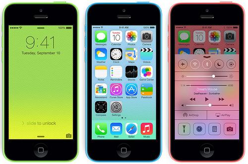 iphone 5C bị loạn cảm ứng