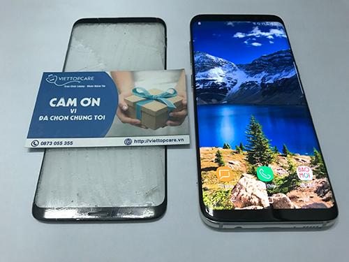 Thay màn hình, mặt kính Samsung Galaxy S8, S8 Plus