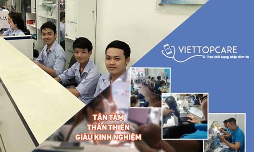 Sửa chữa điện thoại, tab tại Viettopcare