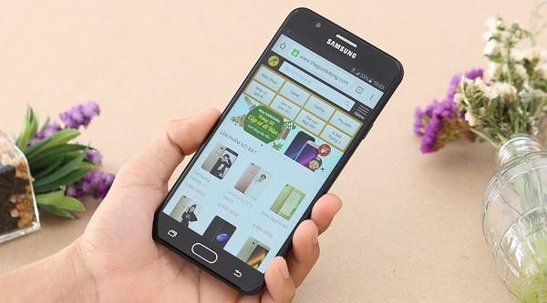 Sửa lỗi sọc màn hình Samsung Galaxy J7 Prime nhanh chóng