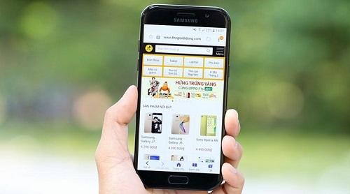Thay màn hình Samsung Galaxy A5 (2017) chất lượng, nhanh chóng