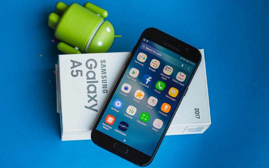 Khắc phục lỗi treo logo Samsung Galaxy A5 (A520 ; 2017)