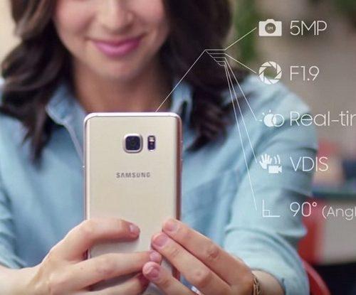 Khắc phục Samsung Galaxy Note 5 lỗi camera trước