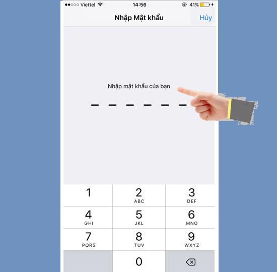 Khôi phục cài đặt gốc iPhone 6 nhanh chóng