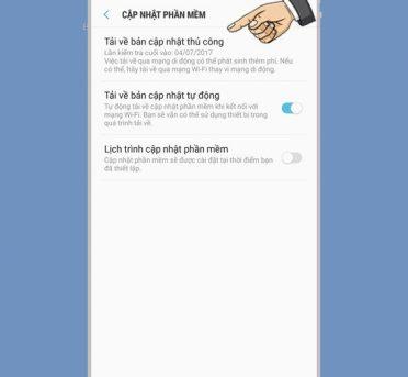Kiểm tra, cập nhật phần mềm mới trên Samsung Galaxy J7 Pro