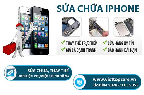 Sửa chữa điện thoại iPhone Viettopcare