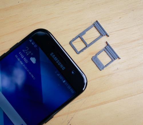 Sửa lỗi Samsung Galaxy A5 (A520 ; 2017) không nhận sim