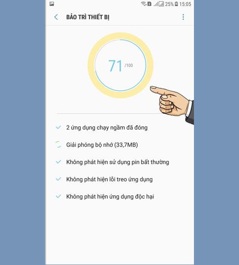 Tăng tốc Samsung Galaxy J7 Pro, tăng tốc độ game