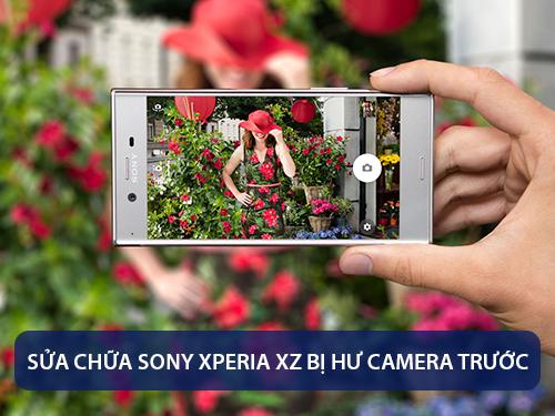 thay-camera-truoc-sony-xperia-xz-1