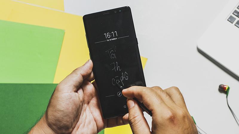 Trải nghiệm những tính năng hữu ích của S Pen trên Galaxy Note 8