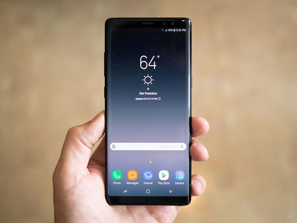 Sửa lỗi thường gặp trên Samsung Galaxy Note 8