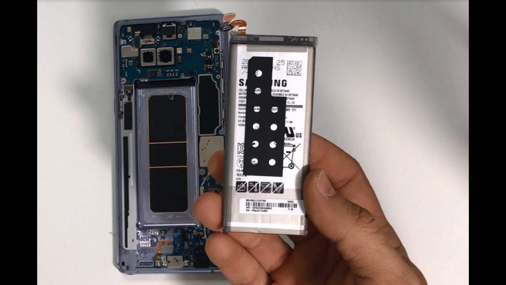 Thay pin Samsung Galaxy Note 8