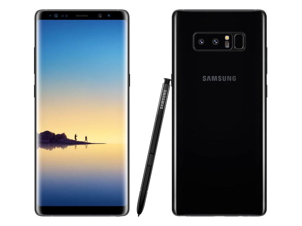 Khắc phục Samsung Galaxy Note 8 lỗi camera