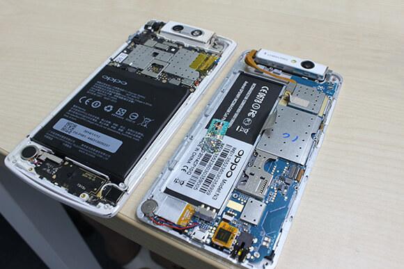 Sửa chữa Oppo mất nguồn, hư IC nguồn