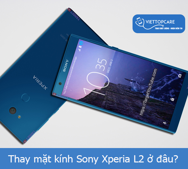 Thay mặt kính Sony Xperia L2