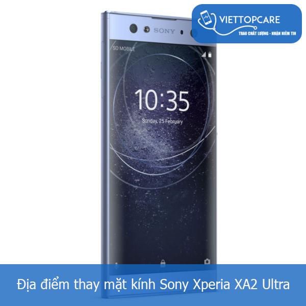 Thay mặt kính Sony Xperia XA2 Ultra
